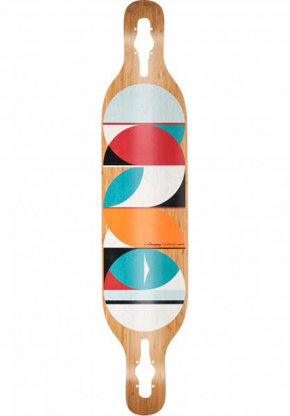 Loaded Longboard Decks Dervish Sama 2015 Flex 3 natural Vorderansicht