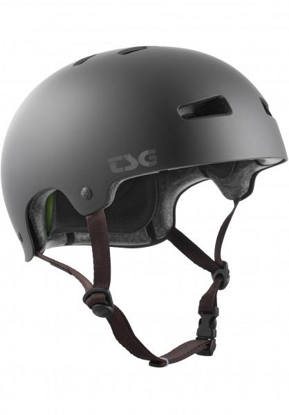 TSG Helme Kraken Solid Color II satin-black Vorderansicht