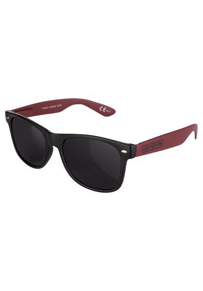 TITUS Sonnenbrillen Keep Pushing black-burgundy-black Vorderansicht
