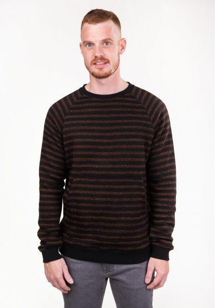 TITUS Strickpullover Sasha rust-striped vorderansicht 0141909