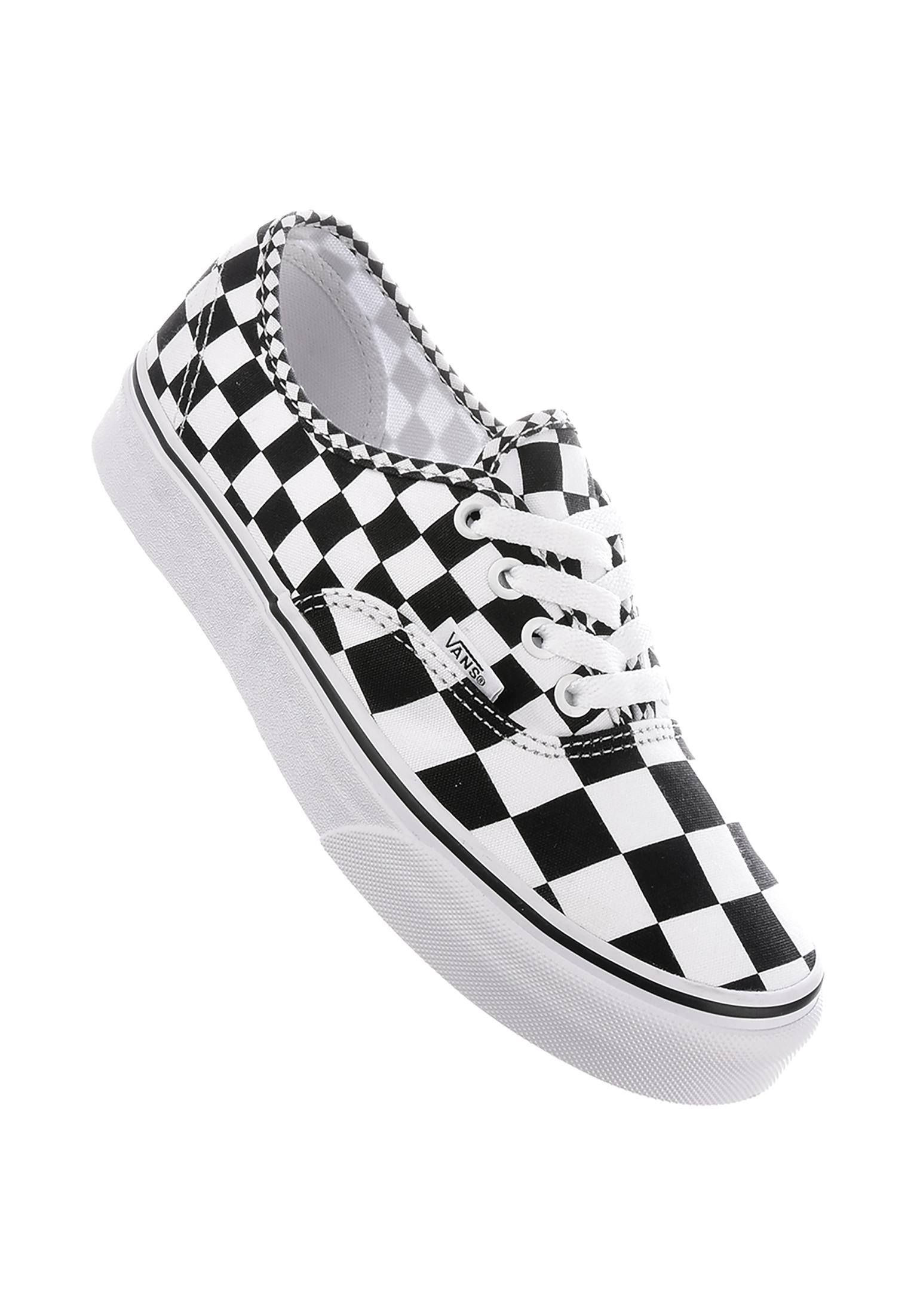 3ac4b88004b7d9 Authentic Classic Vans Alle Schuhe in mixchecker-black-truewhite für Damen