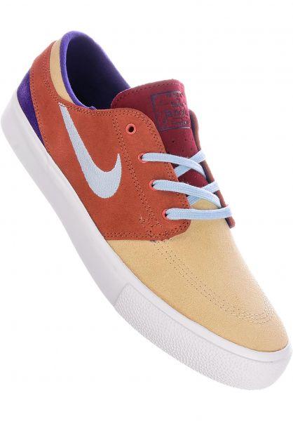 Nike SB Alle Schuhe Zoom Stefan Janoski RM desertore-amoryblue-dustypeach vorderansicht 0604615