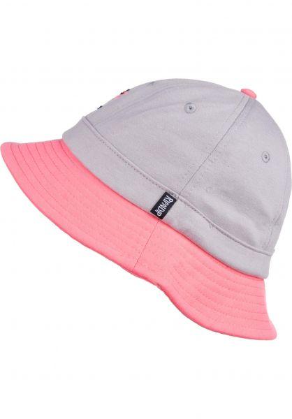 Rip N Dip Hüte Beaches grey-pink Vorderansicht