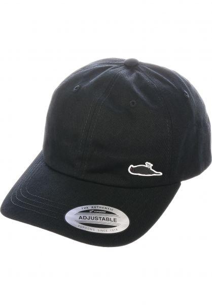 Atticus Caps Weekend Dad Hat black vorderansicht 0566749