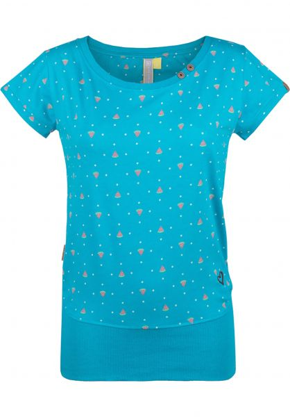 alife and kickin T-Shirts Coco atlantic-aop vorderansicht 0399916