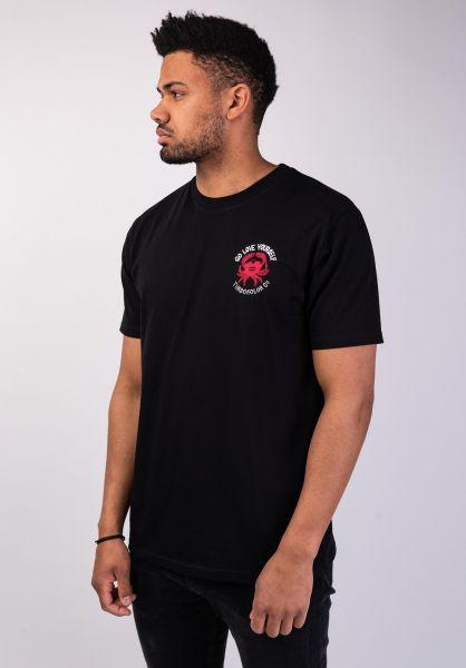 Turbokolor T-Shirts Love Yourself black vorderansicht 0320184