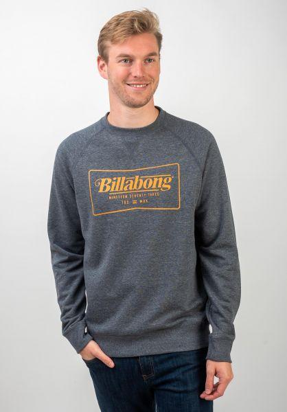 Billabong Sweatshirts und Pullover TRD Mark Crew navy vorderansicht 0422791