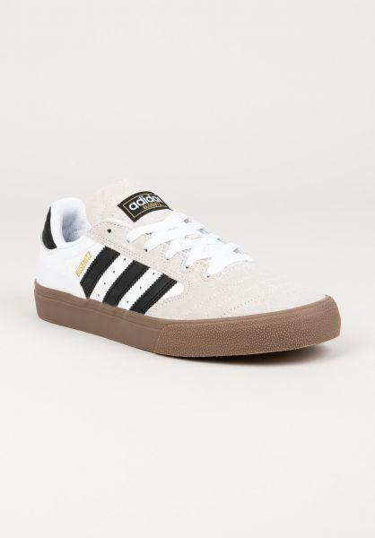adidas-skateboarding Alle Schuhe Busenitz Vulc II white-coreblack-gold vorderansicht 0604761