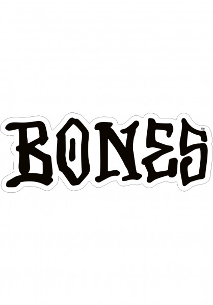 """Bones Wheels Verschiedenes OG Bones 5"""" Sticker black Vorderansicht"""
