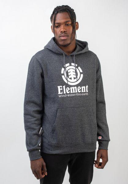 Element Hoodies Vertical charcoalheather vorderansicht 0440609
