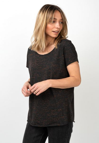 Forvert T-Shirts Sünje black vorderansicht 0320112