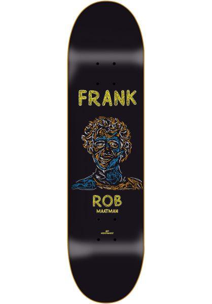 Frank Skateboards Skateboard Decks Rob Zootghost black vorderansicht 0264925