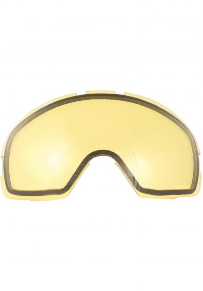 TSG Snowboard-Brille Replacement Lens Goggle One yellow Vorderansicht