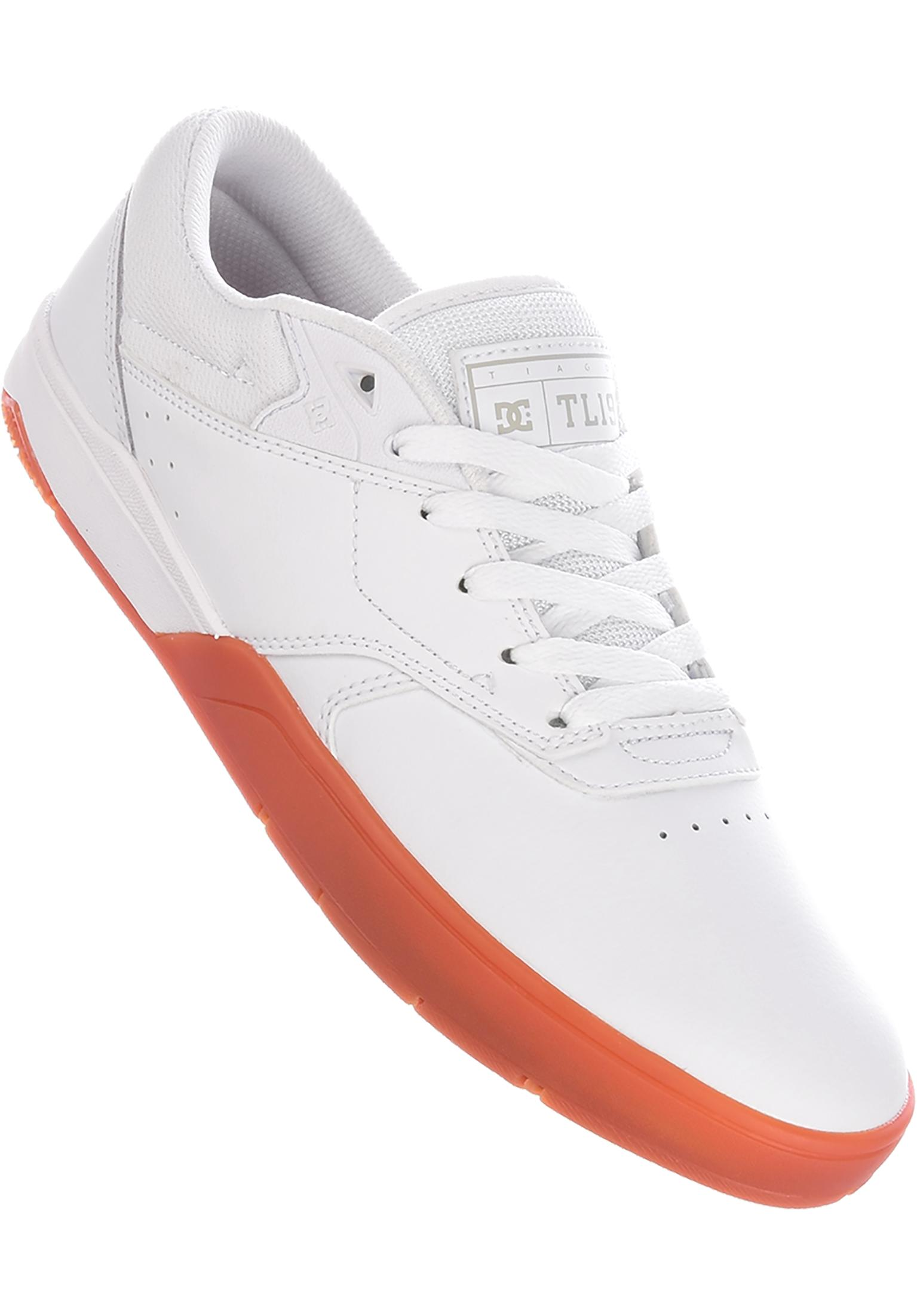 c56ac0bcec6e06 Tiago S DC Shoes All Shoes in white-gum for Men
