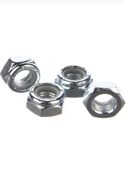 Sunrise Sonstiges Axle Nuts 4er silver vorderansicht 0150513