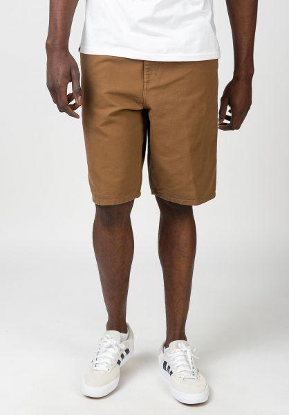 Carhartt WIP Chinoshorts Single Knee Short hamiltonbrownrinsed vorderansicht 0281024