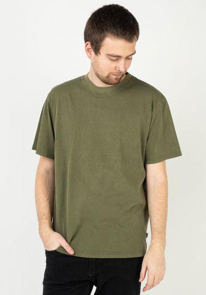 Rhythm T-Shirts Classic Vintage olive vorderansicht 0323912