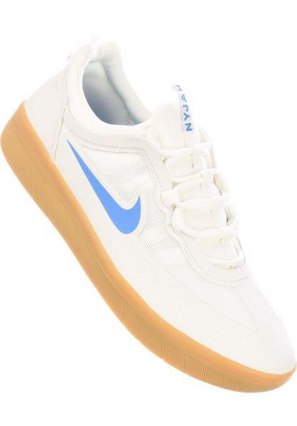 Nike SB Alle Schuhe Nyjah Free 2.0 summitwhite-lightfotoblue vorderansicht 0604782