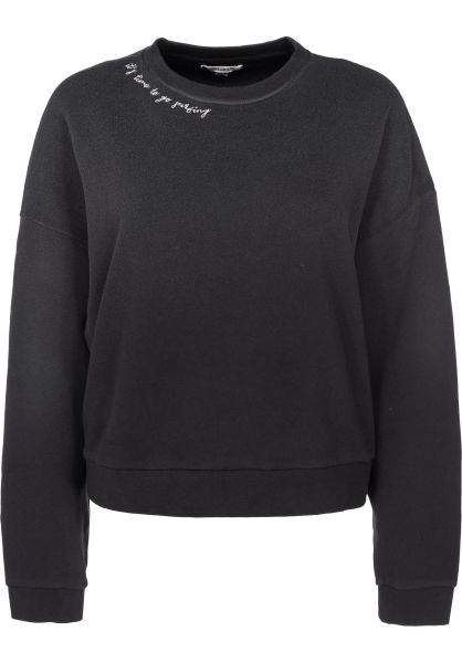 Billabong Sweatshirts und Pullover After Night black Vorderansicht