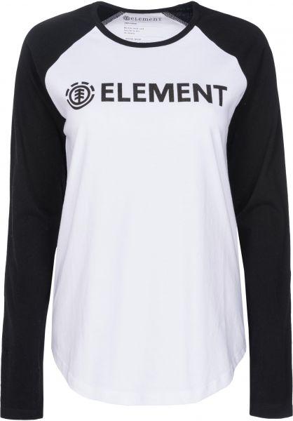 Element Longsleeves Element Logo white Vorderansicht