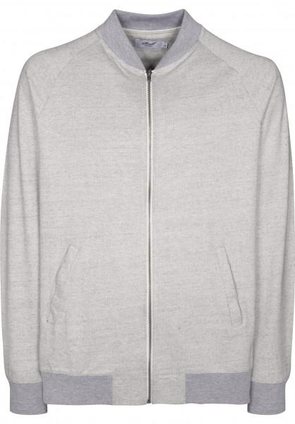 Reell Sweatshirts und Pullover College Trainer greyovernavymelange Vorderansicht