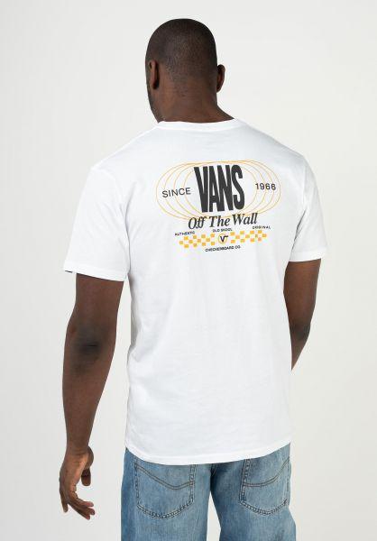 Vans T-Shirts Frequency white vorderansicht 0323467