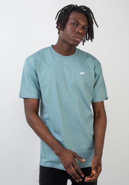 Vans T-Shirts Skate Tee smokeblue vorderansicht 0397885