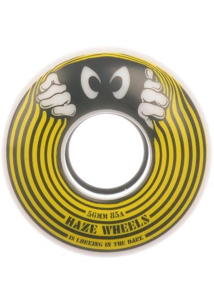 Haze Wheels Rollen Lurk 85A white-yellow vorderansicht 0135068