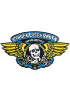 Powell-Peralta Verschiedenes Winged Ripper Lapel Pin blue Vorderansicht