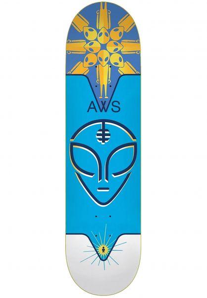 Alien-Workshop Skateboard Decks Hypnotherapy blue vorderansicht 0266393