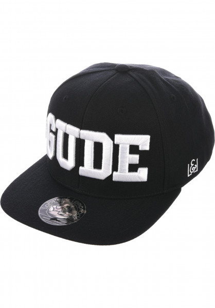 GUDE Caps Snapback black Vorderansicht