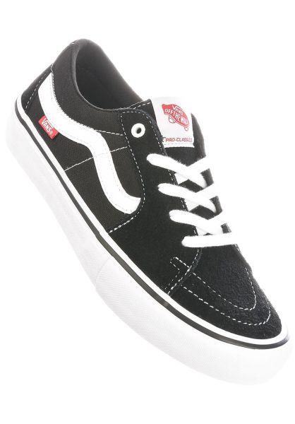 Vans Alle Schuhe Sk8-Low Pro black-white vorderansicht 0604836