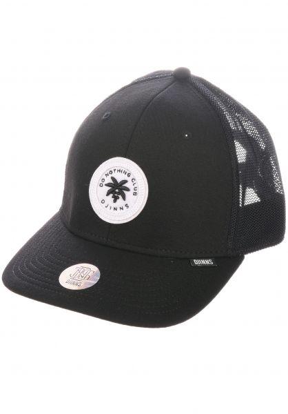 Djinns Caps LFT Cap DNC #2 Stretch Melange black vorderansicht 0566867
