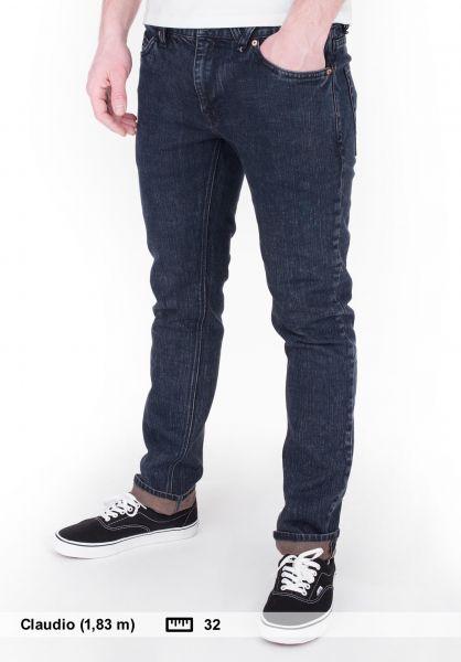 Volcom Jeans 2x4 Denim Skinny camperblue Vorderansicht