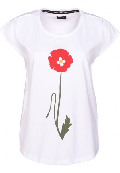 Forvert T-Shirts Moa white Vorderansicht