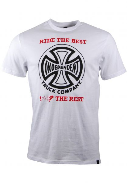 Independent T-Shirts R.T.B. white vorderansicht 0392819