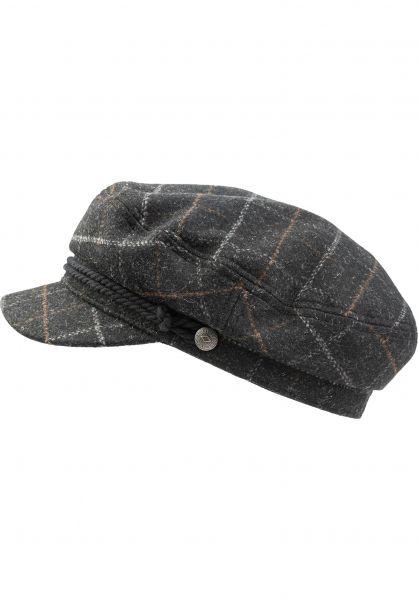 Brixton Hüte Fiddler black-darkbrick vorderansicht 0580162