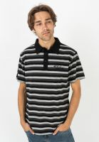 fourasses-polo-shirts-blocked-black-grey-vorderansicht-0138433