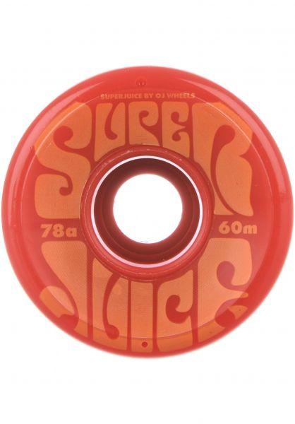 OJ Wheels Rollen Super Juice 78A red Vorderansicht
