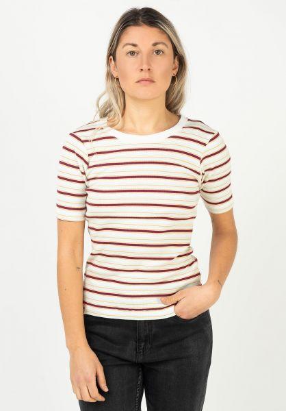 iriedaily T-Shirts Mimie vanilla vorderansicht 0322906