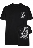 Key Street T-Shirts Ever Onward black Vorderansicht