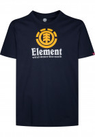 Element-T-Shirts-Vertical-eclipsenavy-Vorderansicht