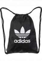 adidas Taschen Gymsack Trefoil black Vorderansicht