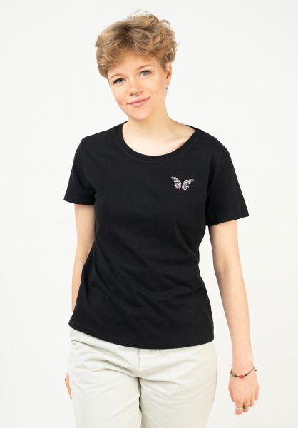 Mazine T-Shirts Dixie black vorderansicht 0322273