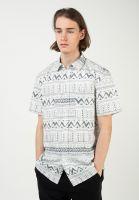 titus-hemden-kurzarm-asher-black-white-ethno-pattern-vorderansicht-0400902