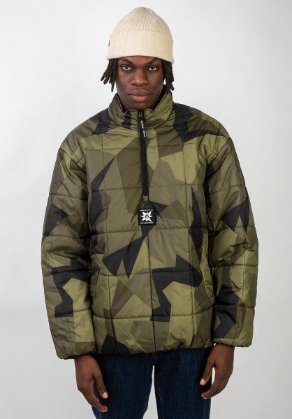 Volcom Winterjacken A.P.#2 Puff Liner camouflage vorderansicht 0250095