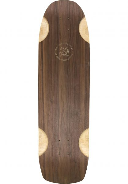 """Mellow Boards Longboard Decks Cruiser 35.4"""" brown vorderansicht 0253228"""