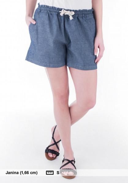 Forvert Chinos und Sweatshorts Scarlet blue-jeans Vorderansicht