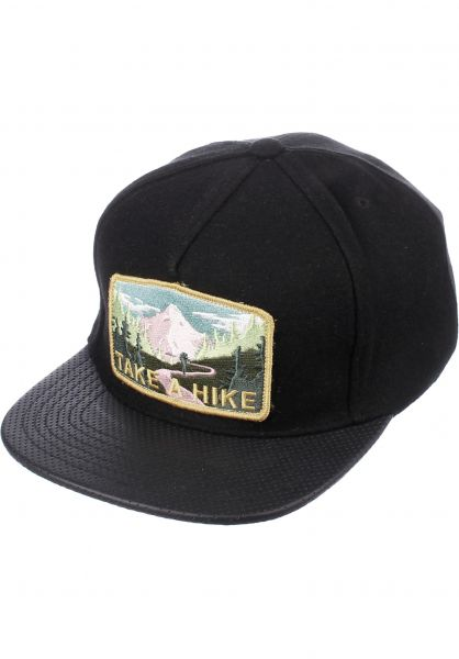 Skate-Mental Caps Take A Hike black-black vorderansicht 0563102
