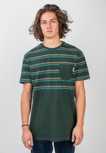 iriedaily T-Shirts Monte Noe Block hunter vorderansicht 0320398